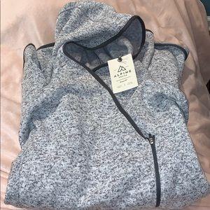 Grey Alpine Design Sweatshirt